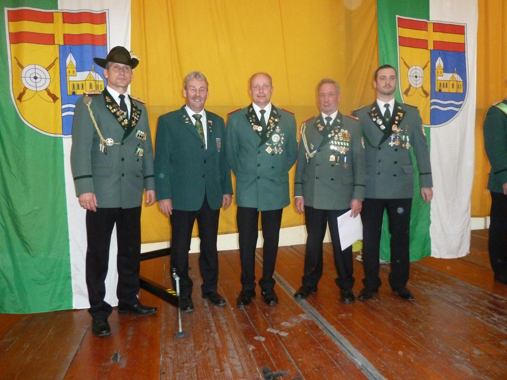 Michael Schadomsky, Ulrich Harkötter, Markus Steffens, Heinz Lottritz, Bernhard Lottritz