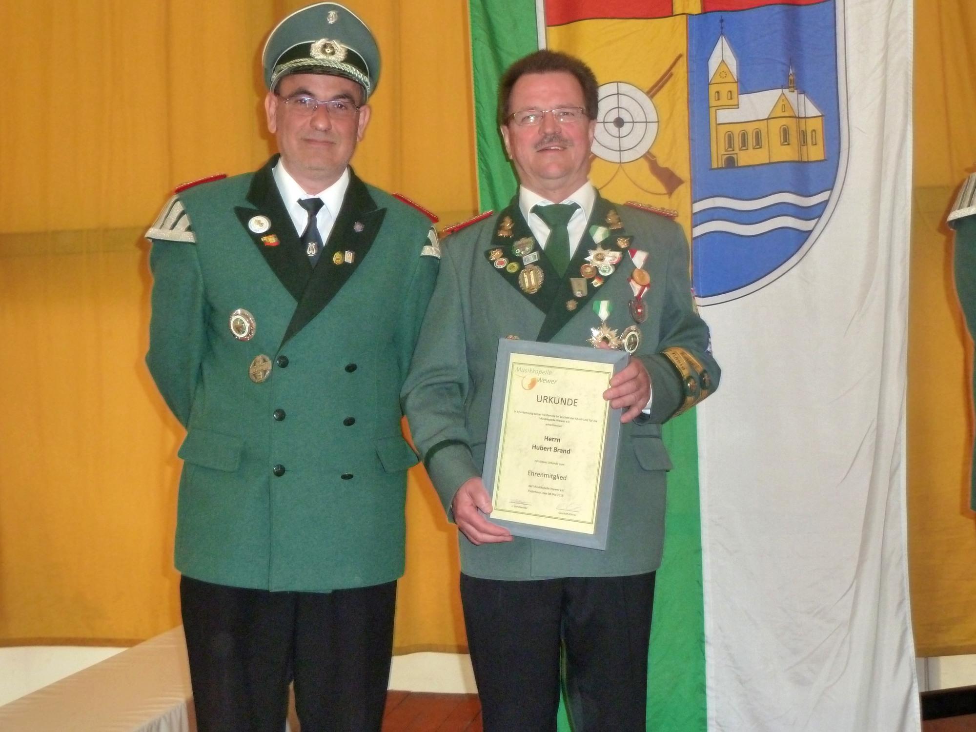 Werner Pahlsmeier, Hubert Brand