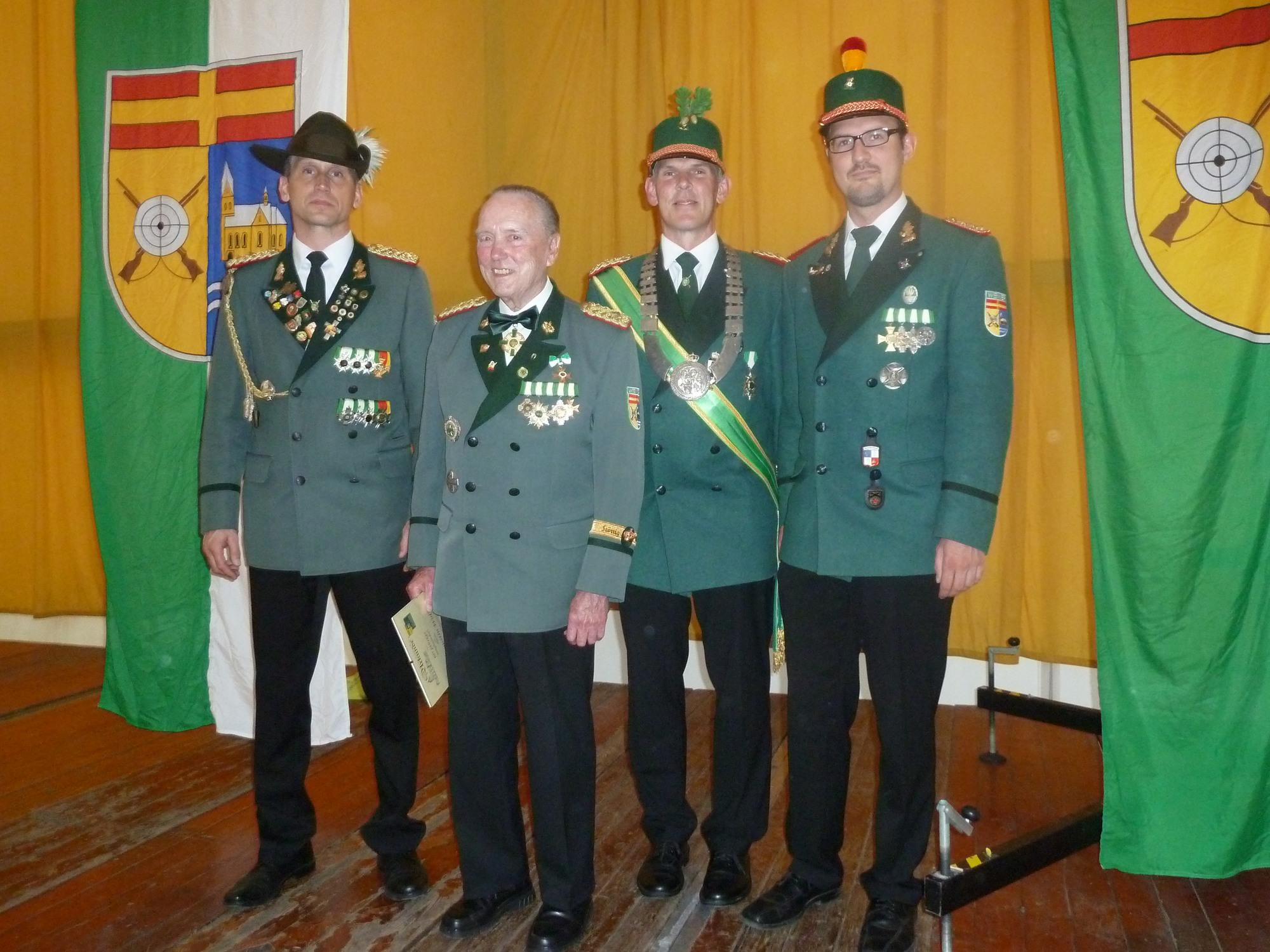 Michael Schadomsky, Augustin Wolf, Jürgen Sill (König), Christian Schäfer