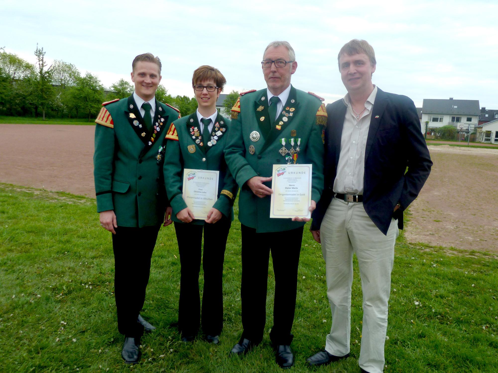 Guido Brand, Christine Lohn, Dieter Merla, Jürgen Fecke