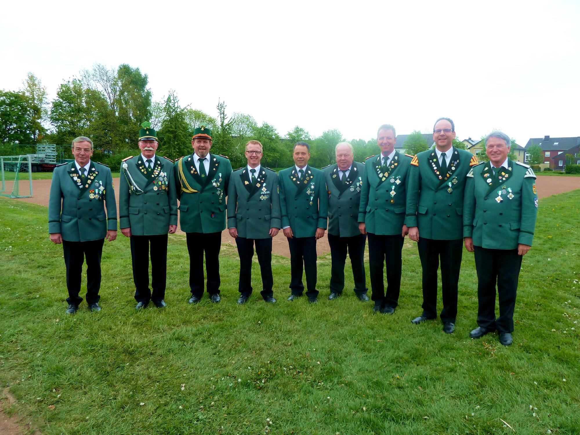 Horst Miks, Hans Schütte, Martin Sill, Thomas Tegetmeyer, Klaus Michel, Hans-Josef Schröder, Reinhard Schlepphorst, Frank Neumann, Werner Niggemeier