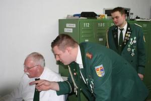 ... der Schießsportabteilung geehrt - Schützenbruderschaft Wewer
