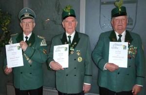 Herrmann Merla (Schloß), Josef Lichte, Wilhelm Reitzki (Warthe)