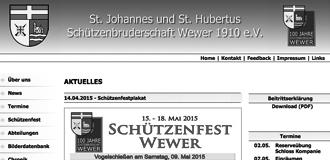 Archiv Schützenverein Wewer